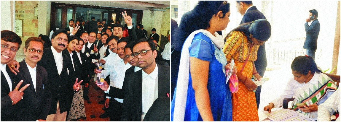 Lawyers vote with enthusiasm at Bar Council polls