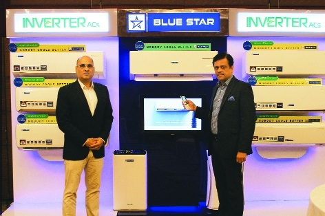 Blue Star launches 40 new inverter split ACsBlue Star launches 40 new inverter split ACs