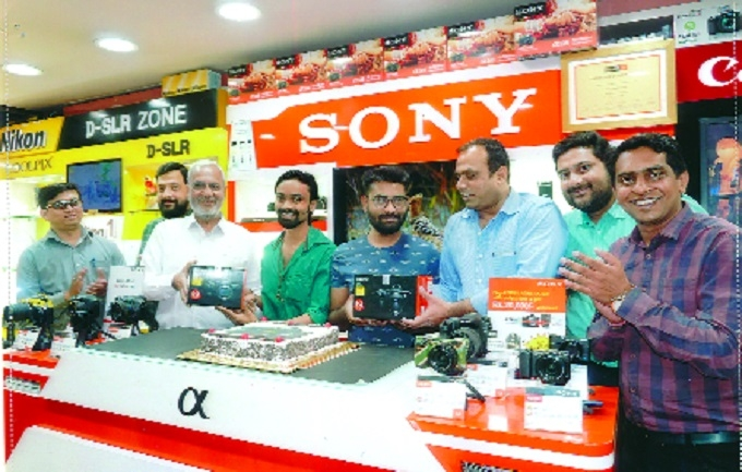 Sony A7M3 launched at Altaf H Vali