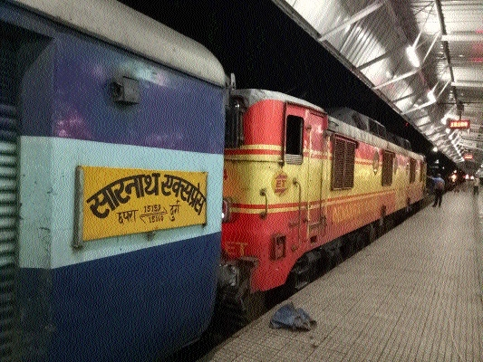 Passengers annoyed due to delays in Sarnath Express
