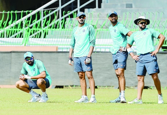 Youngsters begin try-series
