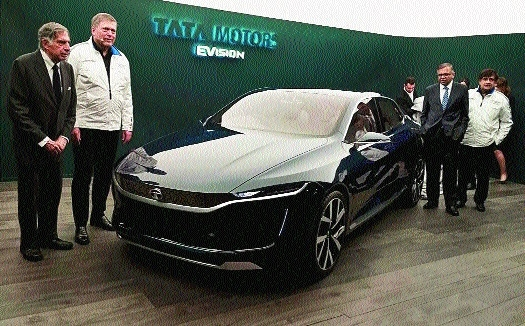 Tata Motors unveils electric concept vehicle at Geneva Motor Show