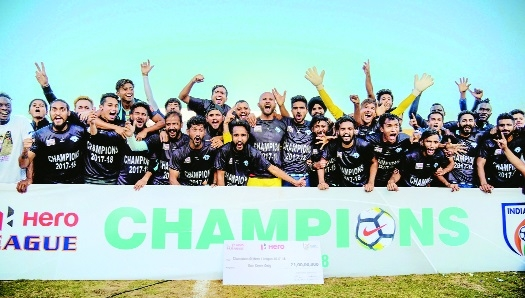 Minerva script memorable I-League triumph