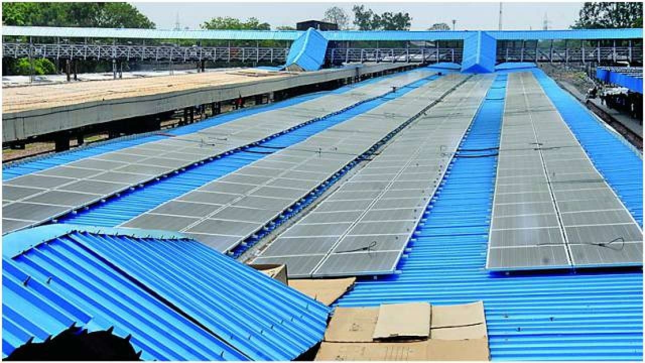Central Railways Nagpur Division to generate 3 MW solar power daily