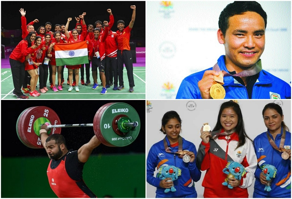 Shooters, shuttlers, paddlers join India's gold class party