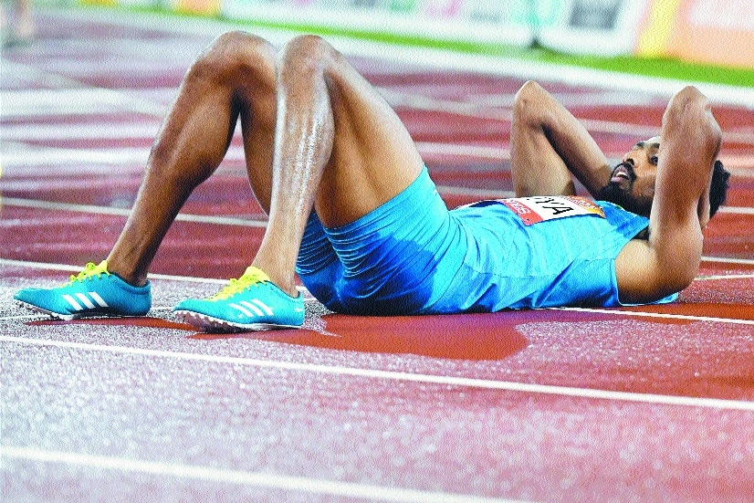 Anas misses 400m bronze by a whisker