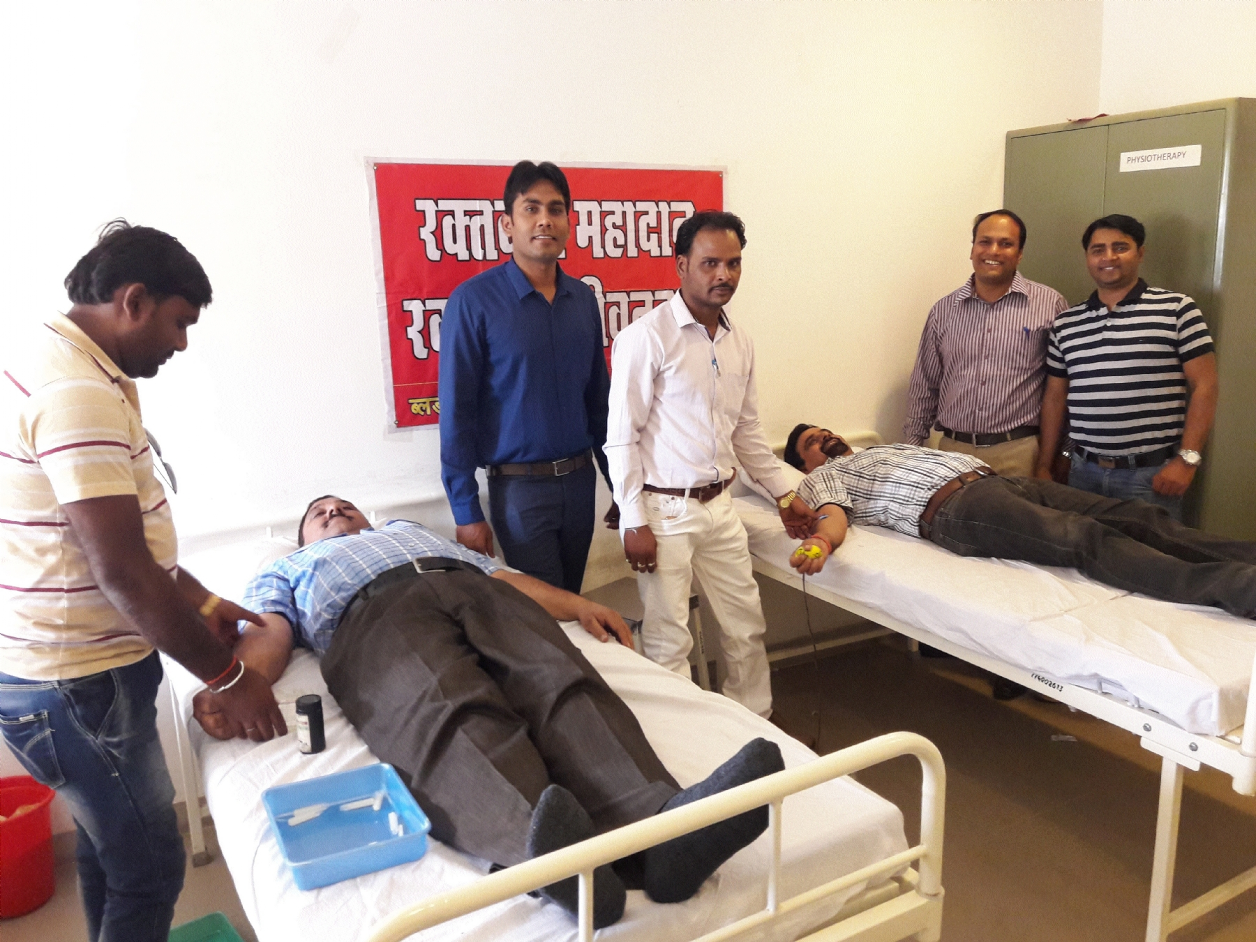 Hindustan Power holds blood donation camp at Jaithairi