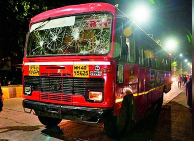MSRTC bus knocks motorcyclist dead in Nandanvan, tension in area