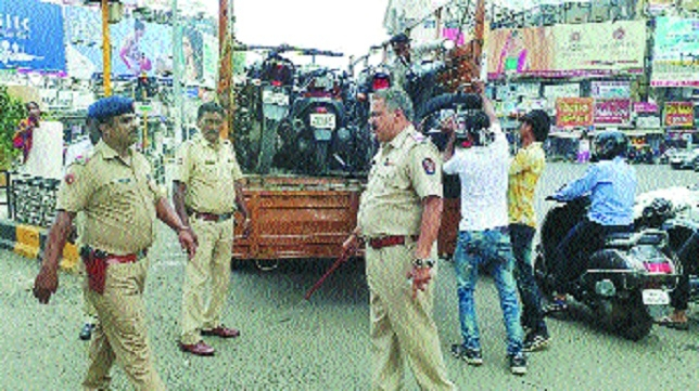 Traffic police intensify drive, issues 21,075 e-challans across city
