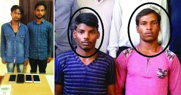 Crime Branch sleuths round up eight, confiscate booty worth Rs 1.25 lakhs