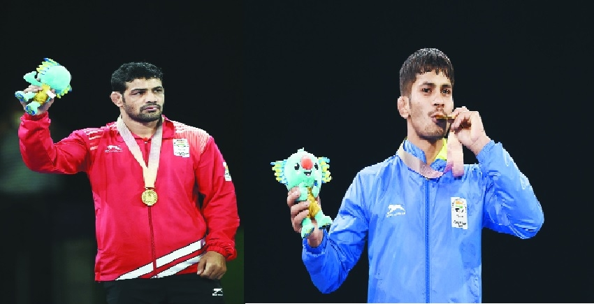 Medals galore as wrestlers join the party for India at CWG