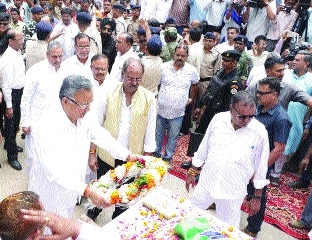 Tearful adieu to Hemchand Yadav