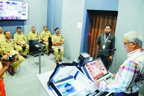 Connecting police recruits through virtual classrooms