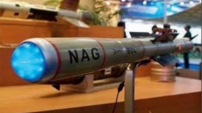 Army to get Nag Anti Tank Guided Missiles in 2019, says DRDO chief