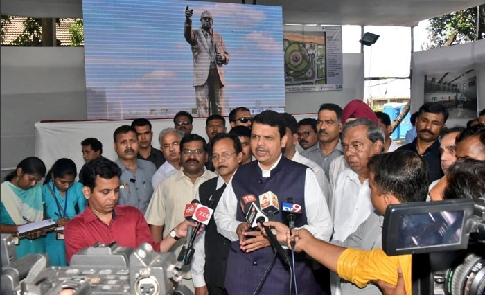Ambedkar memorial to be completed by Apr 2020: Fadnavis