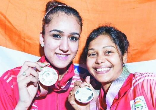 Manika-Mouma wins maiden silver for India