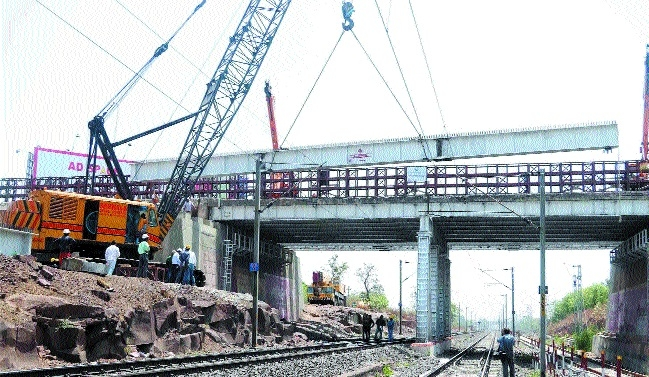 Chetak Bridge construction results into traffic chaos