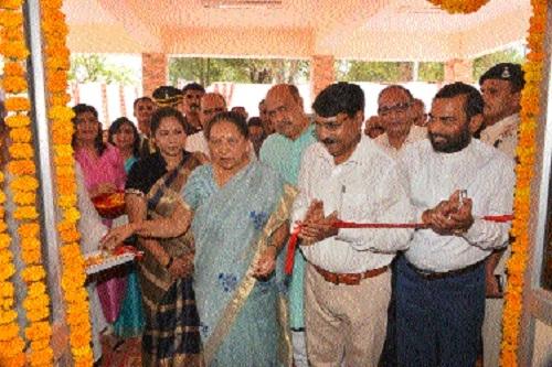 Governor Patel inaugurates 'Ekatm Bhavan'
