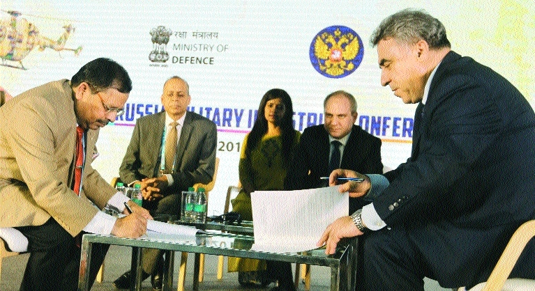 India-Russia sign 7 MoUs under 'Make in India'