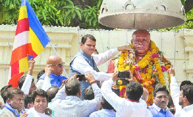 Country moving on path shown by Dr Babasaheb Ambedkar: CM