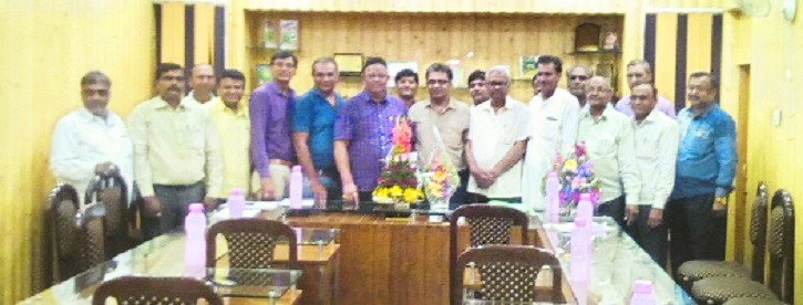 Patel elected President of Maharashtra Timber Mahasangh, Kewate as Secy