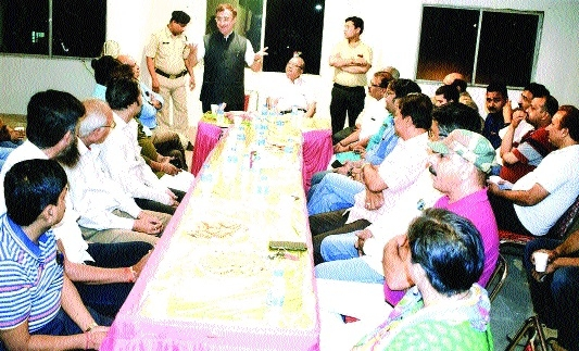 MP Tankha, journalists discuss need for proper functioning of Patrakar Bhawan