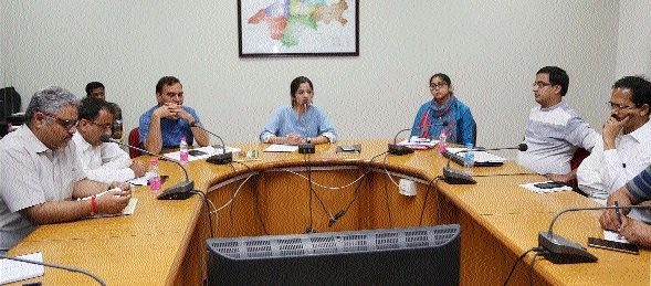 Collector reviews preparations for national convention of panchayats' representatives