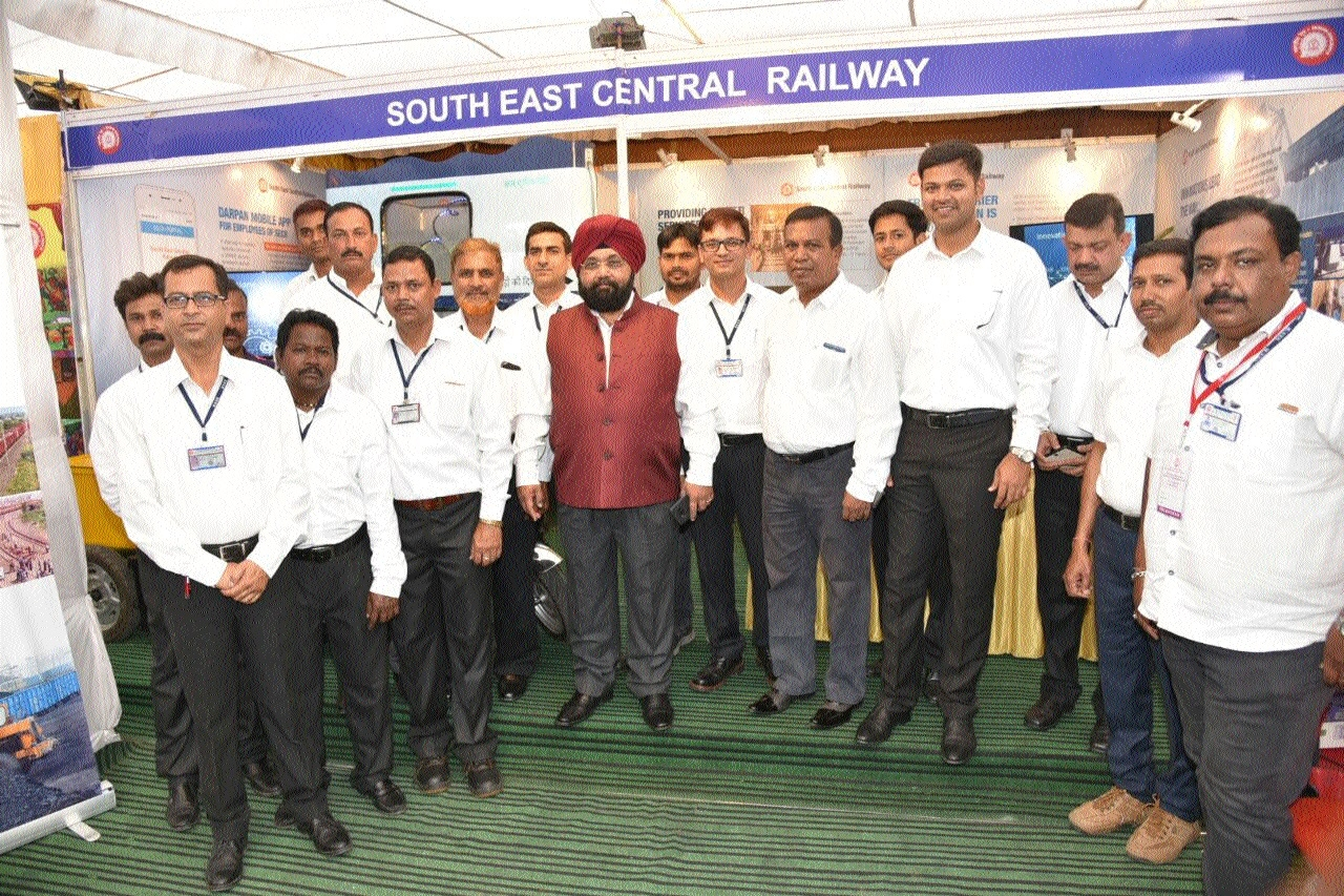 SECR expo exhibits various changes made in rly at All India Railway Week Awards ceremony