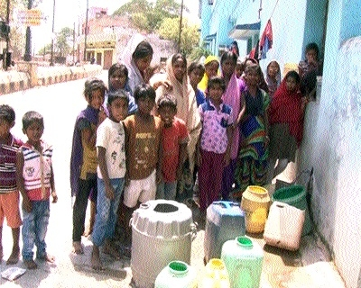 People of Raigarh reeling under acute water crisis