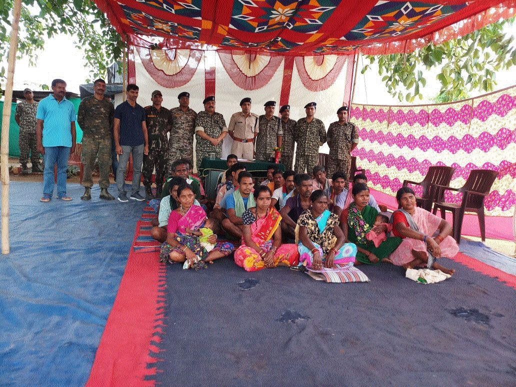 23 Naxal sympathizers surrender before police