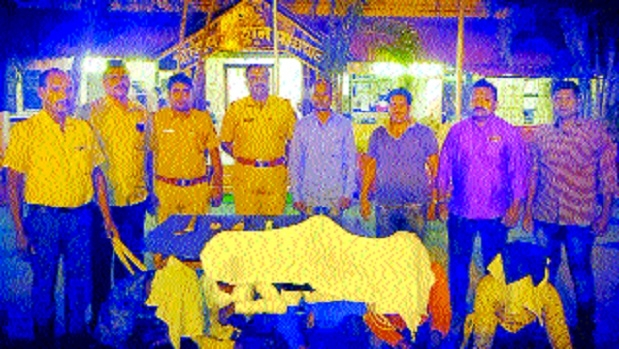 Pachpaoli cops bust gang of dacoits