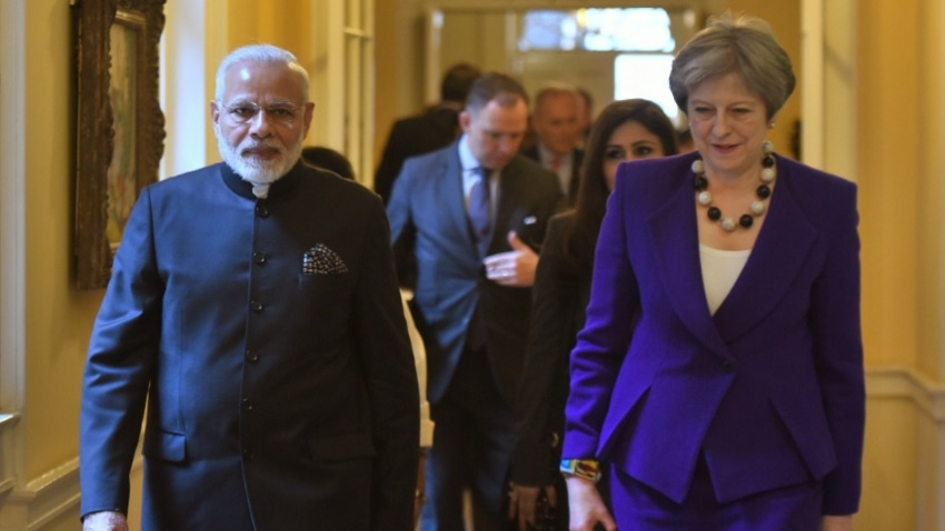 With eye on China, India, UK seek secure, open Indo-Pacific region