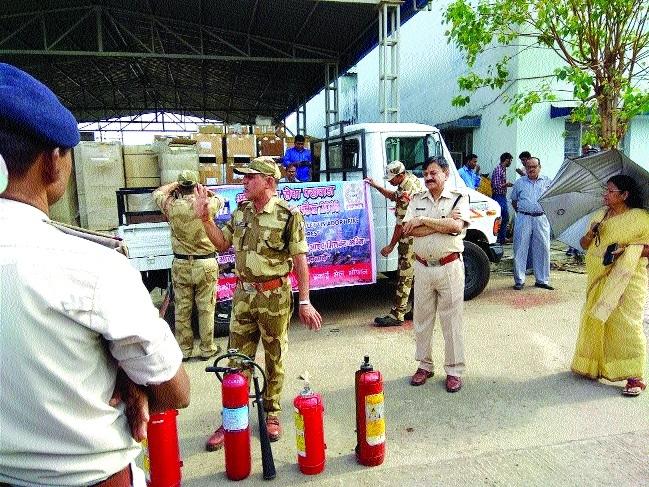 MPMKVVCL holds fire safety mock drill at Govindpura