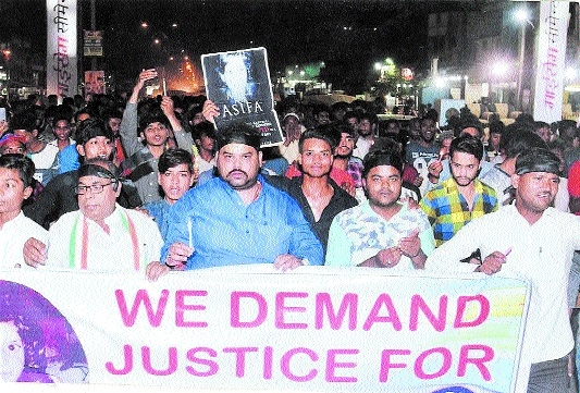 Many attend candle march for justice to Kathua victim