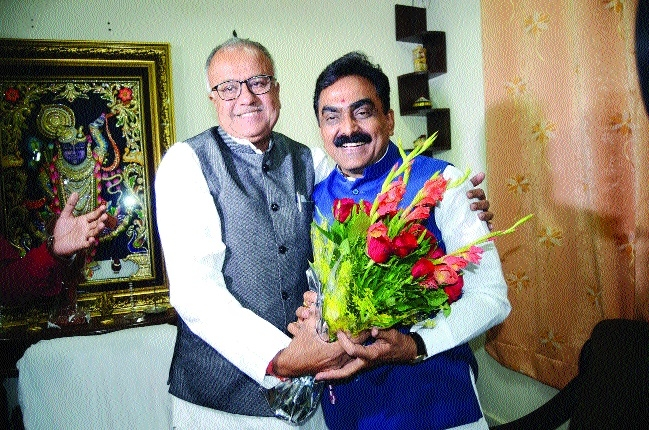 BJP wholeheartedly celebrates Rakesh Singh's success