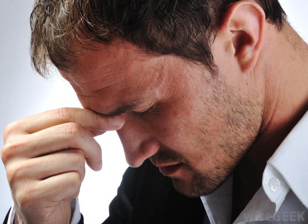 Stress can cause headaches too