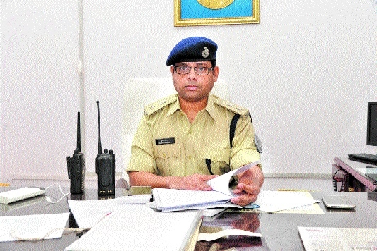 Kumar Saurabh takes charge as Acting SP