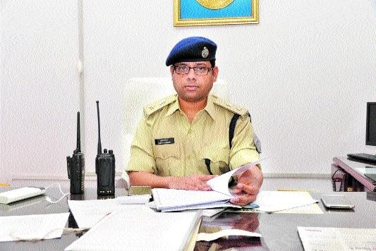 Kumar Saurabh takes charge as Acting SP