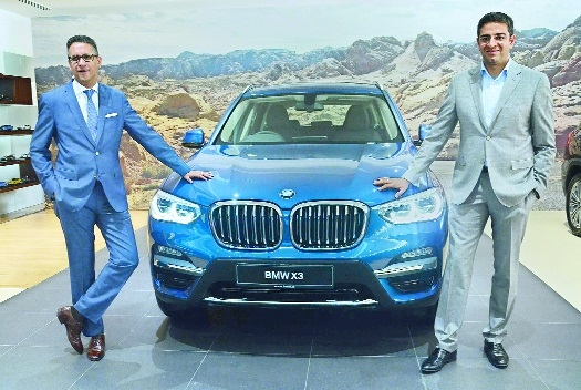BMW launches all new SUV X3