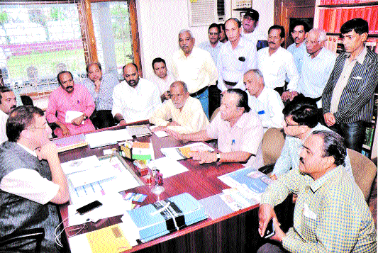 ANMF delegation meets MP Tankha, holds discussion on special economic package to city