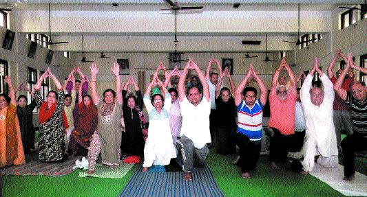 Yoga embraces 'Satvikta' in life