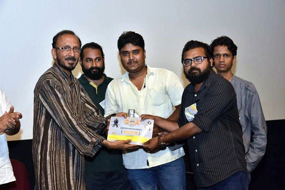 'Saved' bags award at Goa Asian Film Festival