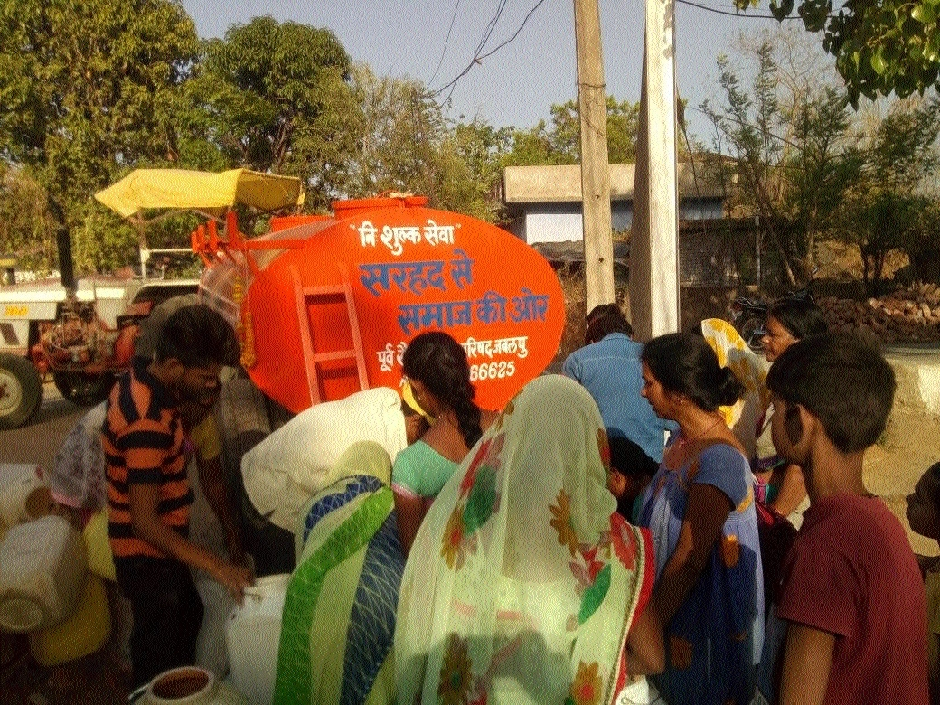Ex-Armymen Council to donate tanks to water-affected Manegaon Ranjhi area