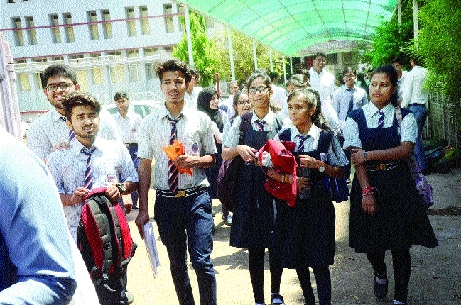 XII CBSE students reappear for Economics paper