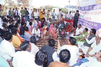 MP Singh reviews devpt schemes at Chargavan block