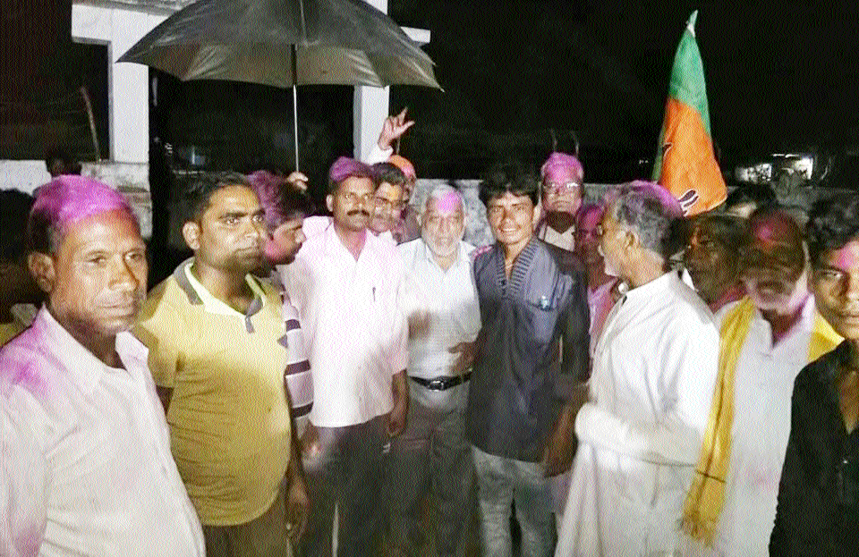 BJP-supported candidate is Kostey Van Samiti President