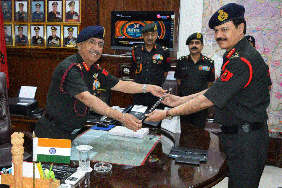 Lt Gen Rana, VSM assumes command of Headquarters Madhya Bharat area
