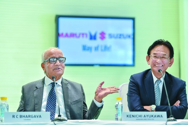 Maruti Suzuki Q4 net up 10 pc to Rs 1,882 crore