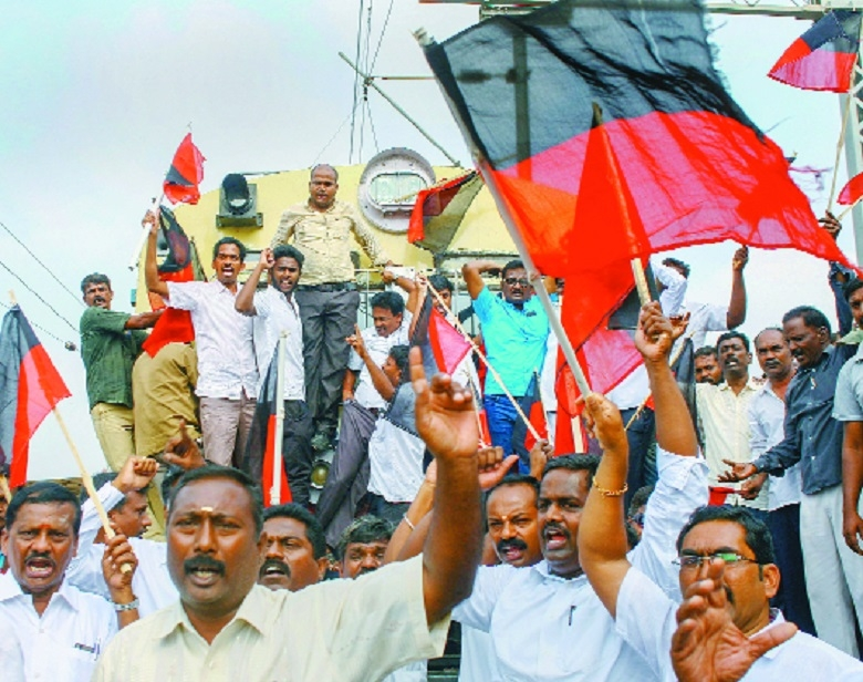 2 DMK men attempt self-immolation over Cauvery issue; SC agrees to hear TN's plea