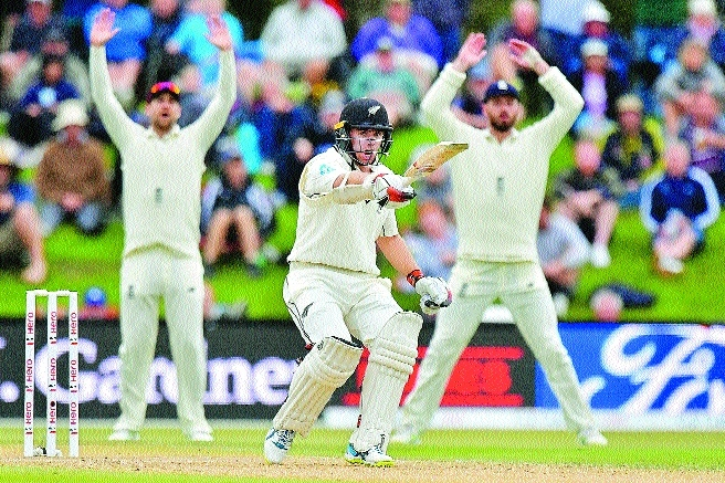 Latham, Raval in safe start for New Zealand CHRISTCHURCH